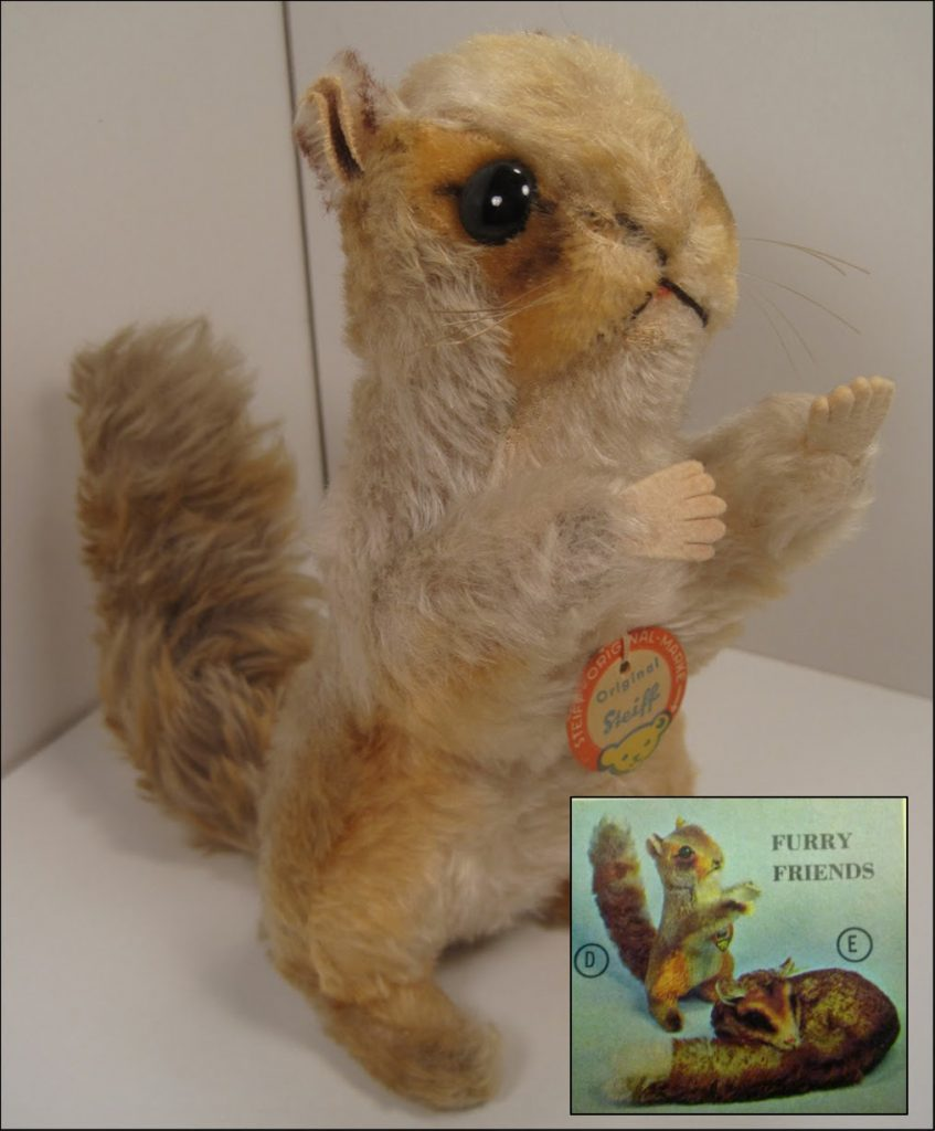 1968-69 Mystery Squirrel from F.A.O Schwarz. Photo from the author's collection.
