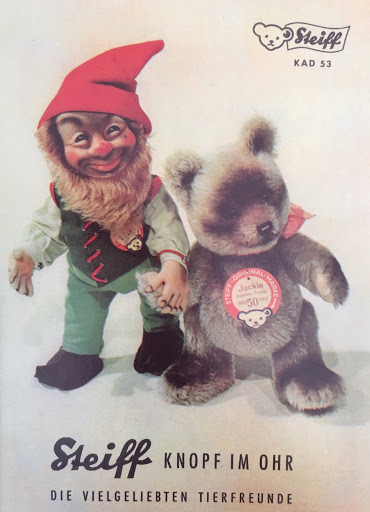 1953 Steiff Catalog Cover. Photo from the author's collection.