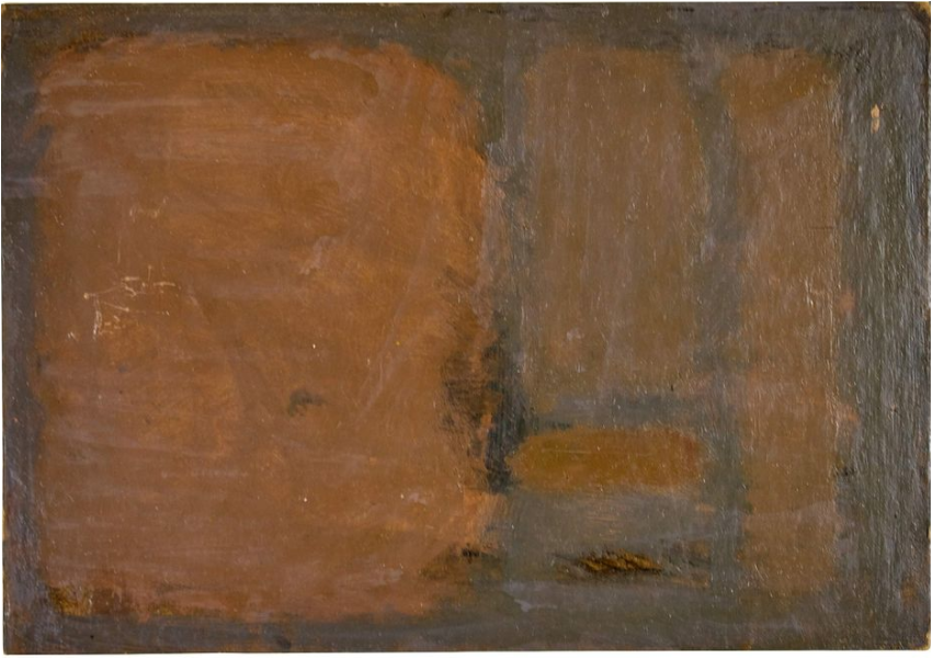 Kim Whan-ki, untitled painting, 1957. Image from Vallot Auctioneers.