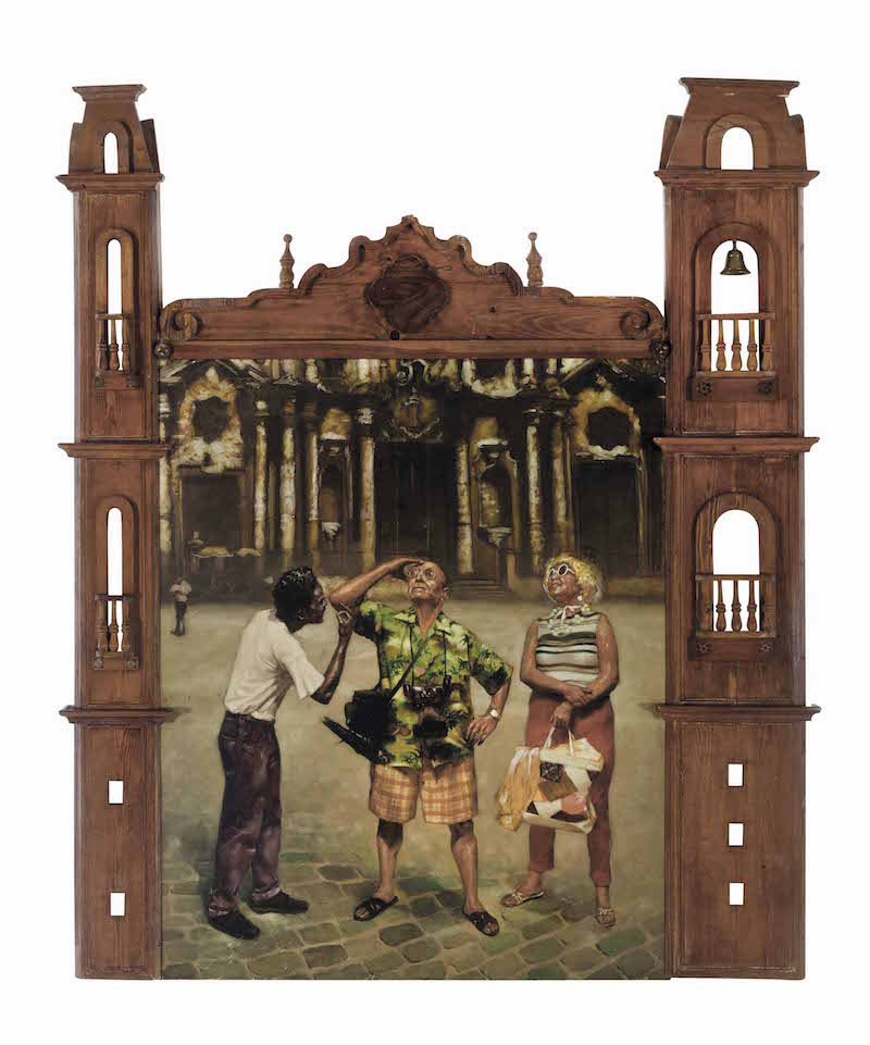 Los Carpinteros, Catedral, 1995. Image from Christie's.