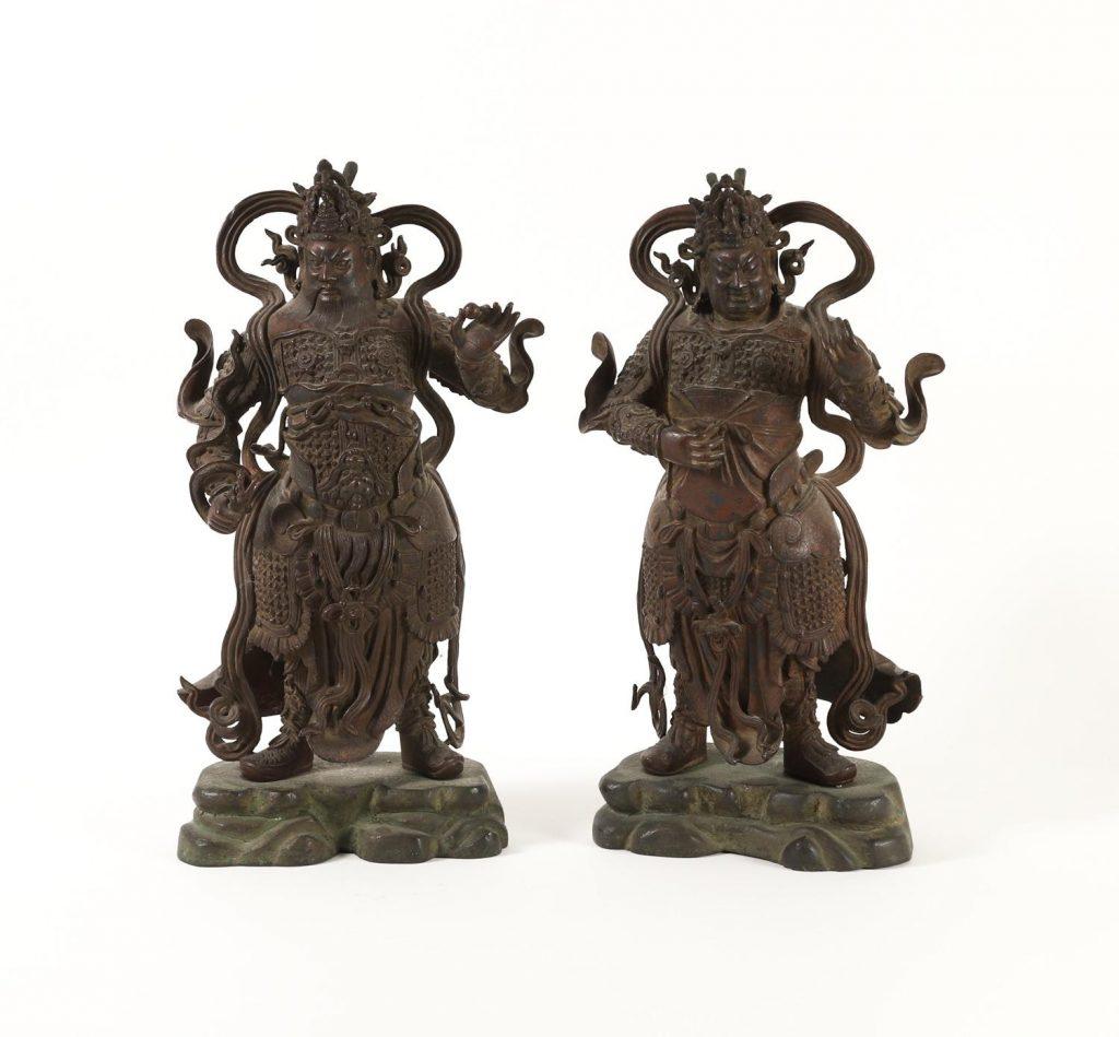 Pair of Large Chinese Cloisonné Basins, circa. 1736-1795