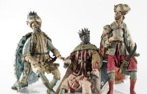 Lark Mason Associates Extends Bidding for Rare Neopolitan Christmas Créche Figures