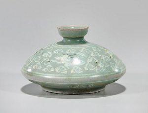 Korean Celadon Glazed Cosmetic Bottle