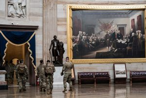 The Smithsonian is collecting objects from the Capitol siege