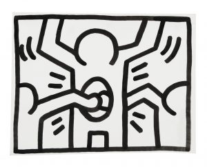 Keith Haring Untitled (Pop Shop Drawing)