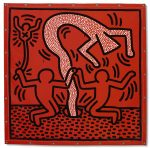 Keith Haring (1958-1990) Untitled