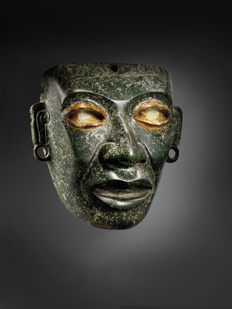 Teotihuacán Serpentine Mask, circa 450-650 C.E. Image from Christie's.