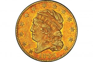 1822 coin worth $5 million+ to be auctioned