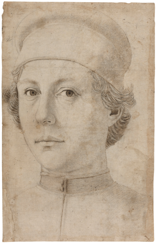 Piero del Pollaiuolo, Portrait of a Young Man, 1460s-70s. Image from Sotheby's.