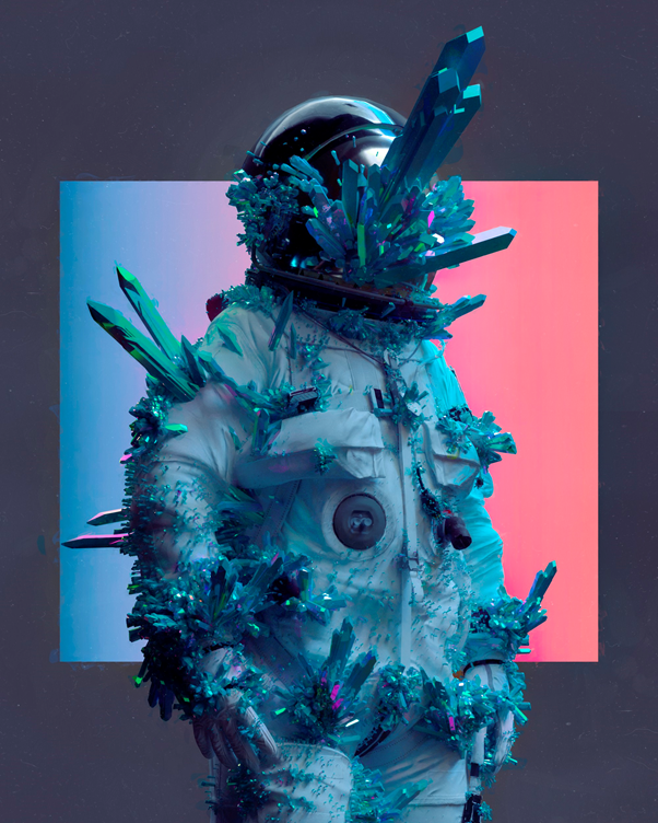 Beeple, Everydays – The First 5000 Days NFT. Image by Christie's.