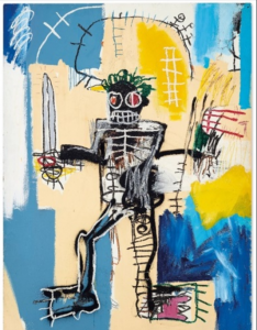 Jean Michel Basquiats Warrior Comes to Auction in Hong Kong1