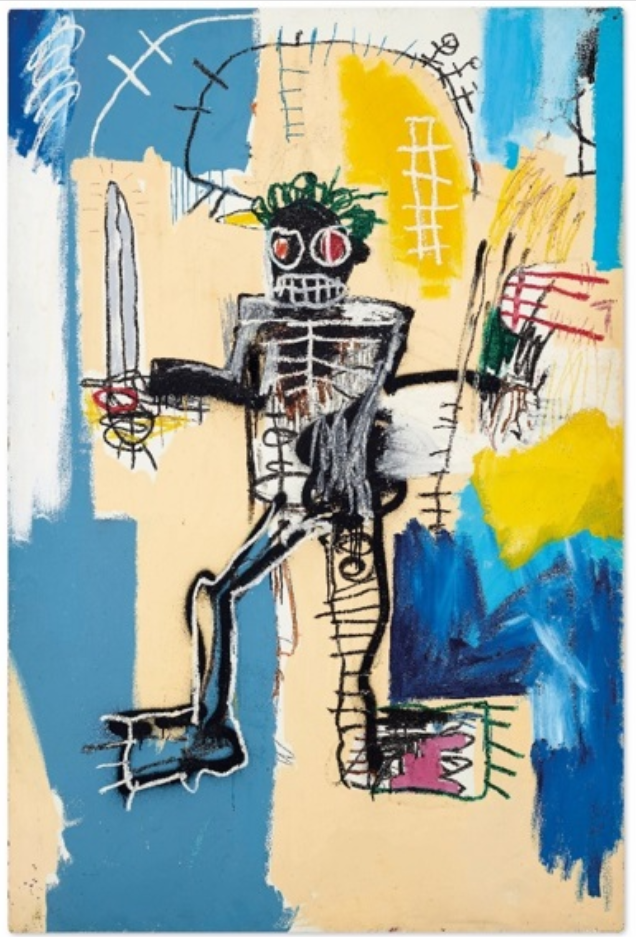 Warrior by Jean-Michel Basquiat Source: Christie's