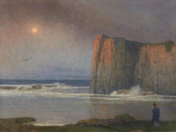 Jakub Schikaneder, The Calm Sea, Nocturne, 1920-1924. Image from Freeman's.