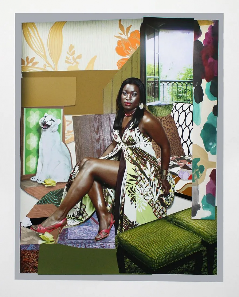 Mickalene Thomas, I've Been Good to Me, 2015. Image from Rare Posters.