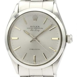 Vintage ROLEX Air King 5500 Stainless Steel Automatic Mens Watch