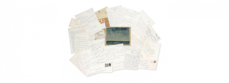Mentoring Letters by Georgia OKeeffe Come to Auction With Bonhams1