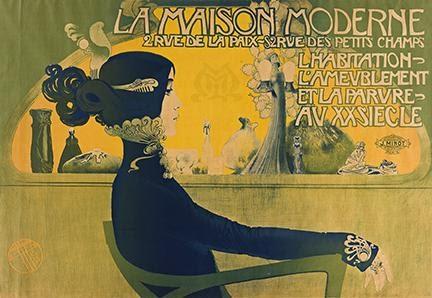 Manuel Orazi, La Maison Moderne, 1900. Sold for $37,500.