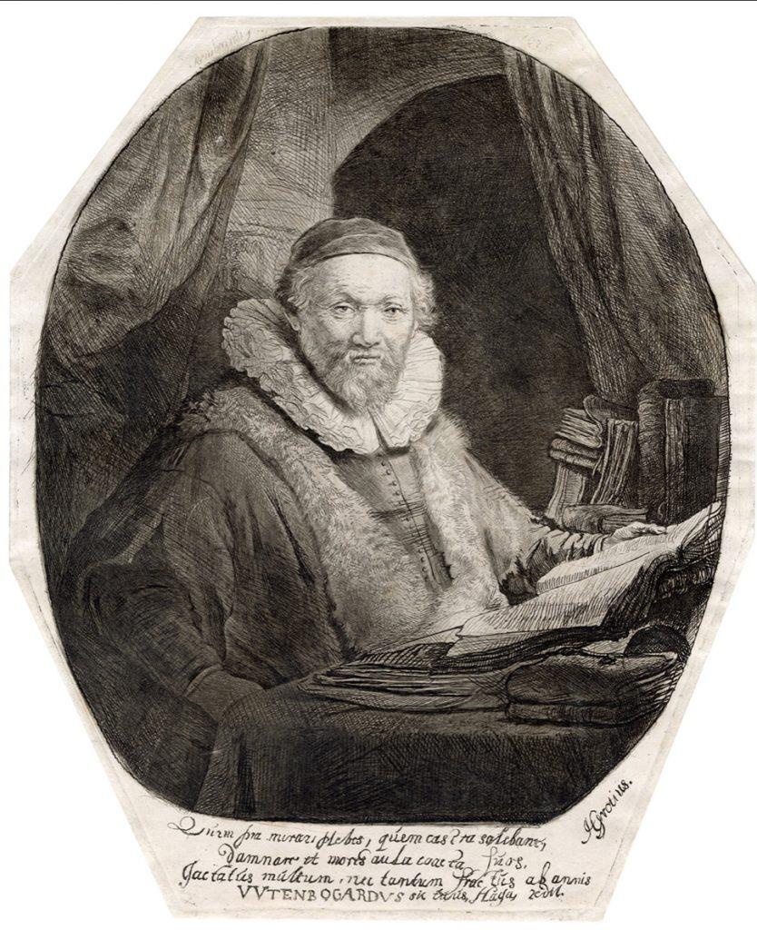 Rembrandt Portrait of Jan Uytenbogaert