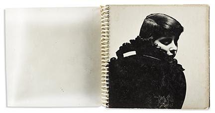 Ed van der Elsken, a rare handmade personal album of 27 Parisian silver prints, circa 1951. Estimate $10,000 to $15,000.
