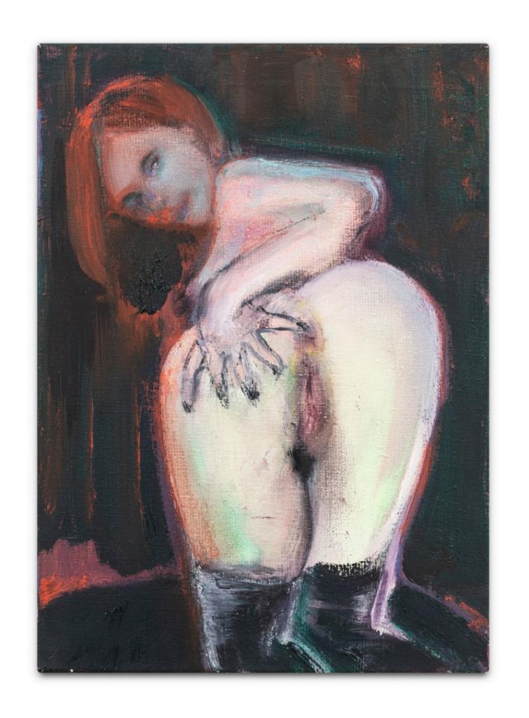 Marlene Dumas, Handy. Image from Sotheby's.