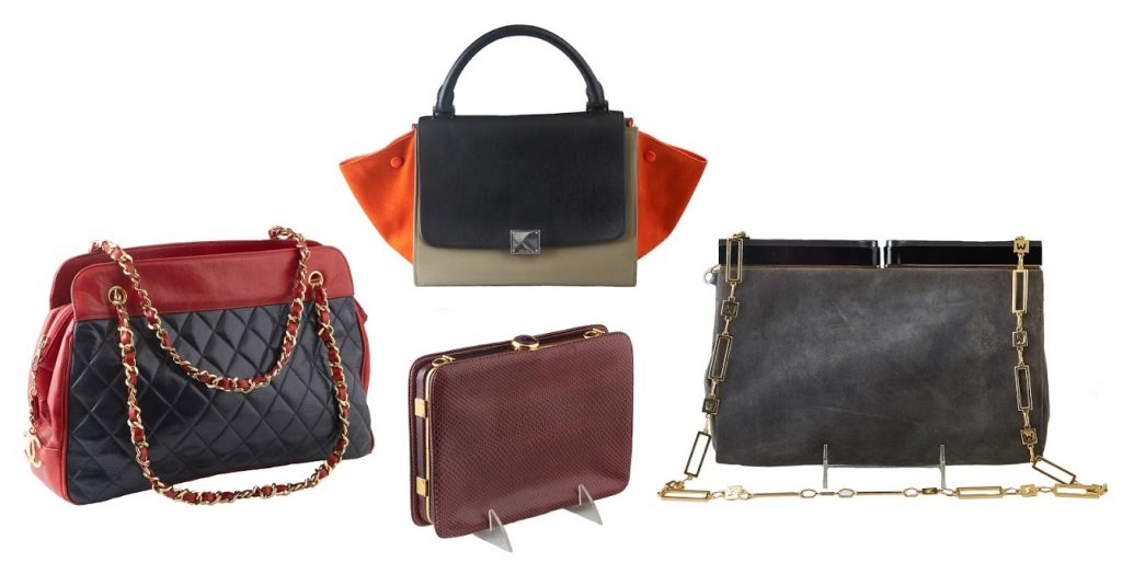 Session 1, on Friday, March 12th, will feature a collection of highly collectible couture purses from names like Prada, Gucci, Hermes, Louis Vuitton, Celine, Judith Lieber and Chanel.