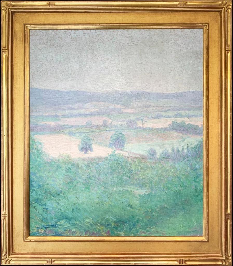 Pennsylvania Landscape by Wharton Esherick. Photo courtesy of Gratz Gallery.