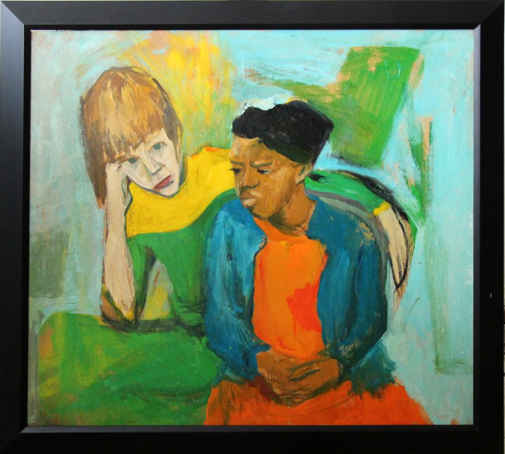 Best Friends by Bernard Harmon. Photo courtesy of Gratz Gallery.