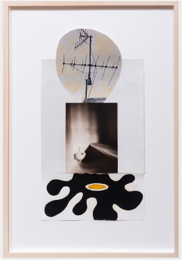 Tony Oursler, James Casebere, and Charles Golden, Untitled, 1993. Image from Stair.