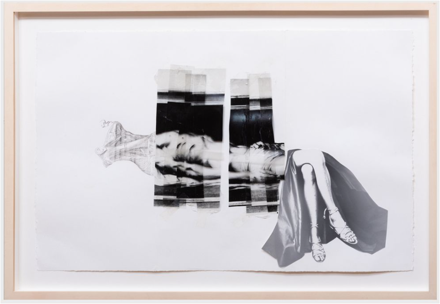 Annette Lemieux, Doug Starn, Mike Starn, and Timothy Greenfield-Sanders, Untitled, 1992-93. Image from Stair.