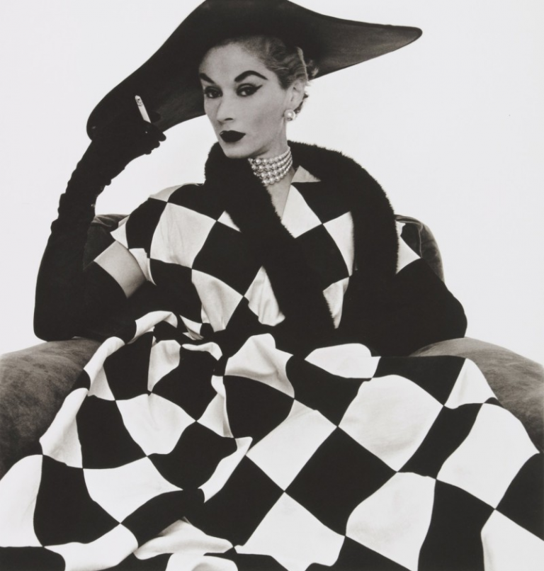 Harlequin Dress by Irving Penn. Image from Sotheby's.