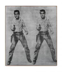 Andy Warhol Elvis 2 Times