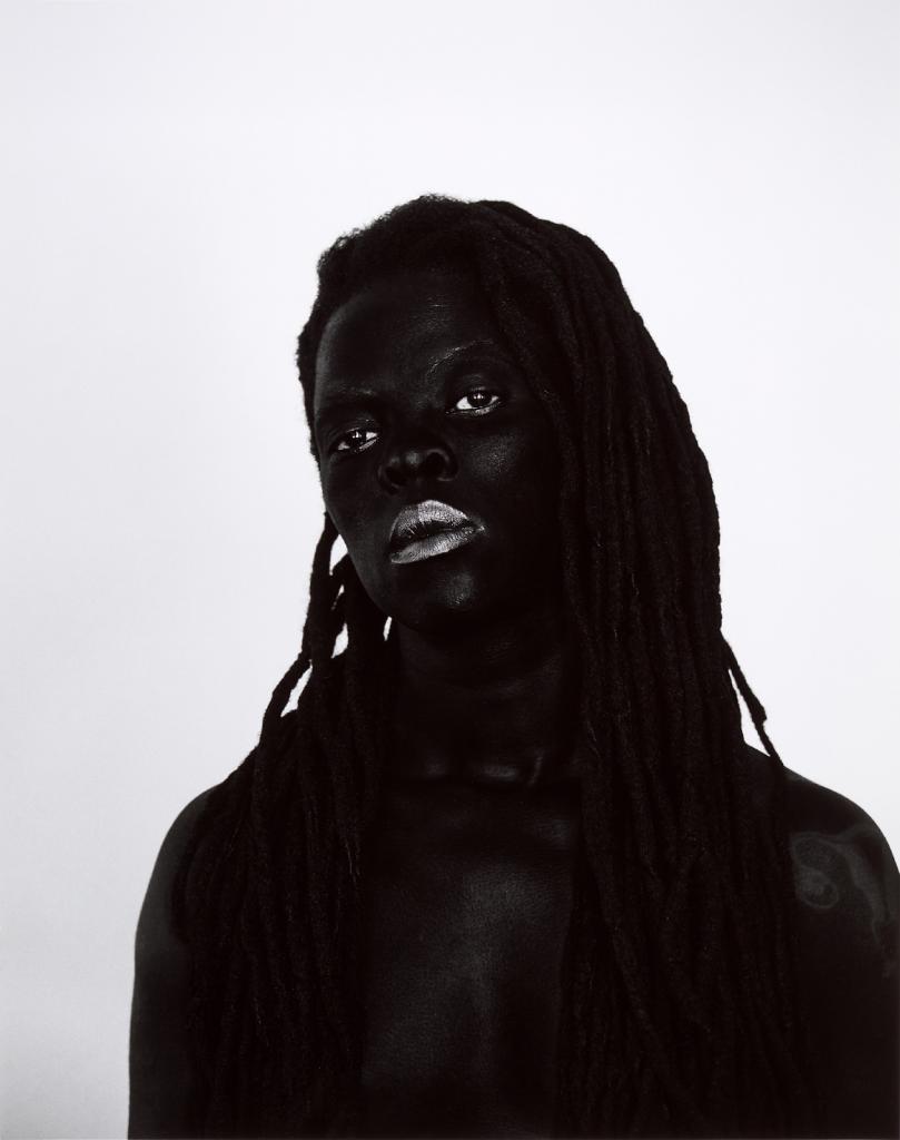 Zanele Muholi, 'Babaza I,' Philadelphia, (from the series 'Somnyama Ngonyama'), 2019. Image from Sotheby's.