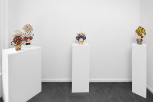 Exhibition of new ceramic sculptures by artist Ahrong Kim on view at Kristen Lorello