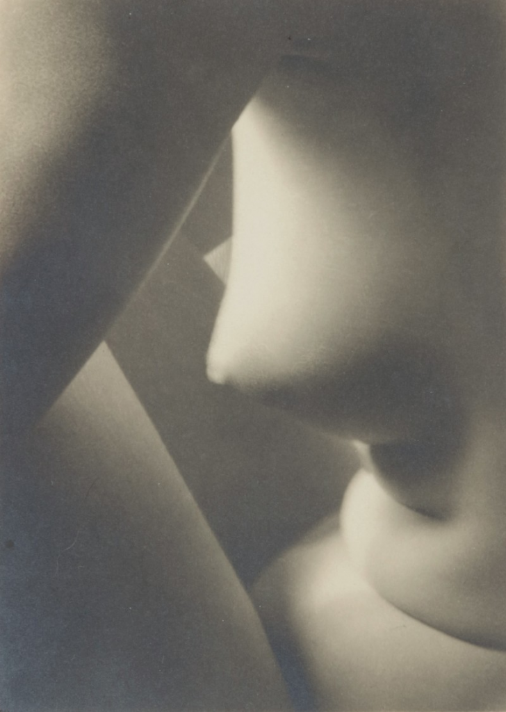 Imogen Cunningham, Triangles, 1928. Image from Sotheby's.