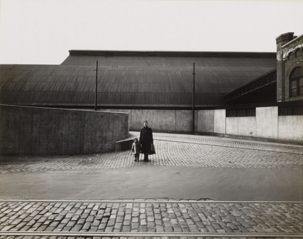 Harry Callahan, Barbara and Eleanor, Chicago, 1953. Image from Sotheby's.