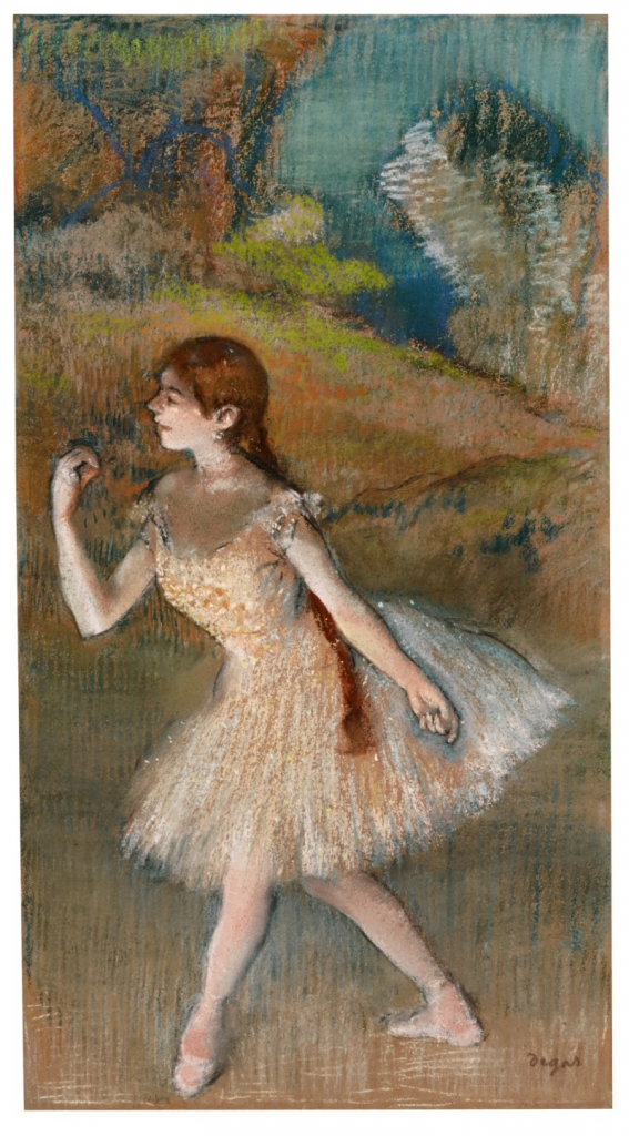 Edgar Degas, Danseuse. Image from Sotheby's.