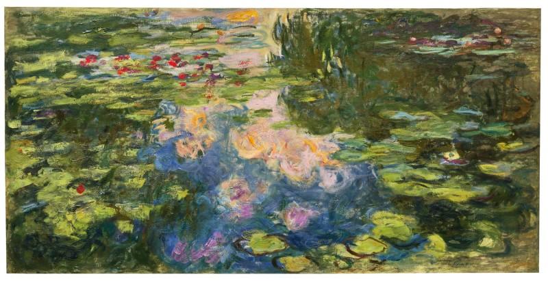 Claude Monet, Le Bassin aux nymphéas. Image from Sotheby's.