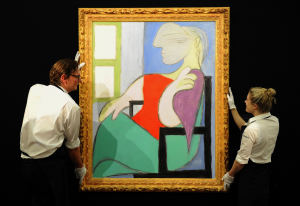 Painting of Picassos Muse, Estimated at $55 Million, Will Lead Christies New York Auction1