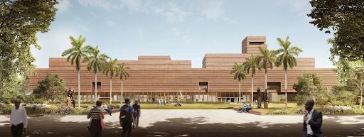 Project image for the planned Edo Museum of West African Art in Nigeria. Image courtesy of Adjaye Associates.