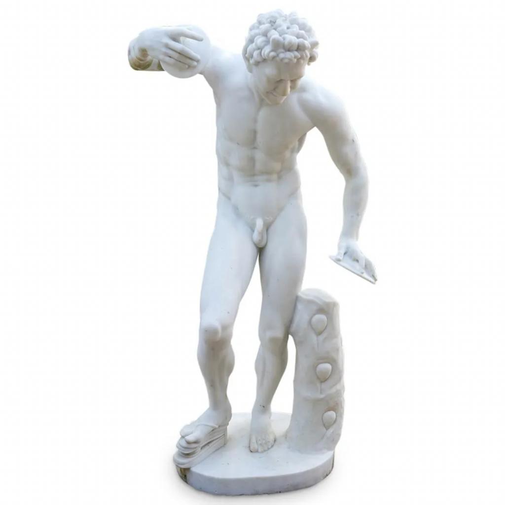 Antonio Frilli (Italian 1860-1920) 19th Cent. Marble