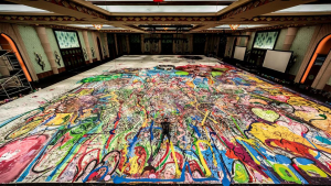 The Worlds Largest Painting From Lockdown Project to Auction Record1