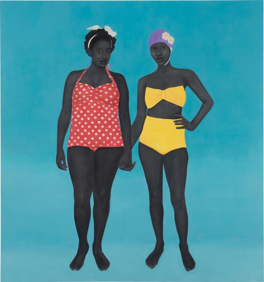 The Bathers by Amy Sherald. Image from Phillips.