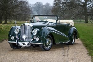 Selection of five classic Bentleys with VIP connections for sale by H&H Classics