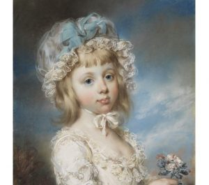 Pastel portrait by John Russell acquired for the Nationalmuseum Sweden collections