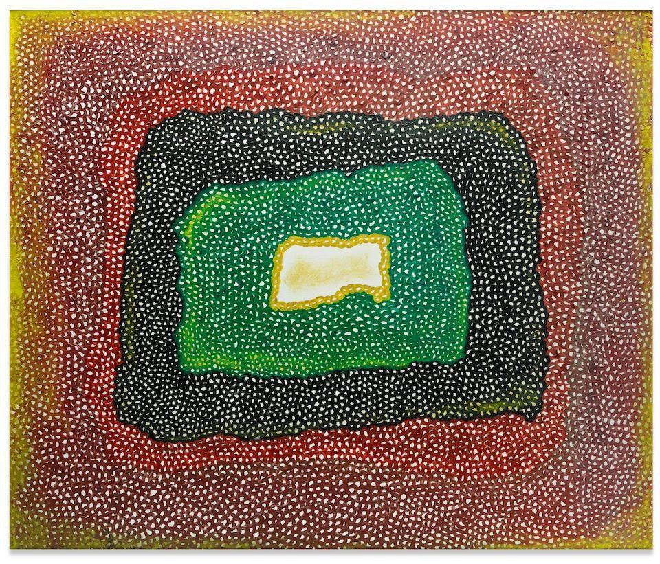 Untitled, 1965 by Yayoi Kusama Image source: Bonhams