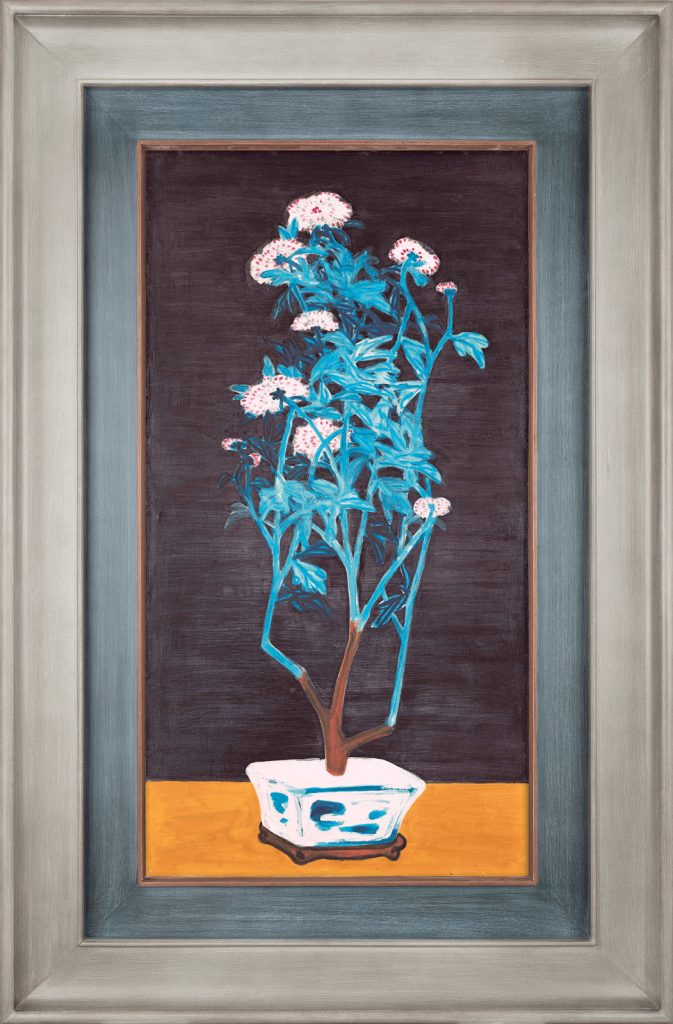 Sanyu (Chang Yu), Potted Chrysanthemums, 1950s. Image from Christie's.