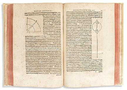Nicolaus Copernicus, De Revolutionibus Orbium Coelestium, second edition, Basel, 1566. Estimate $60,000 to $80,000.
