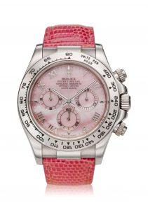 Rolex Reference 116519 'Daytona Beach' A white gold automatic chronograph wristwatch, Circa 2000