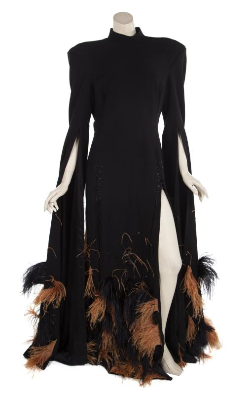 Gown worn by Janet Jackson to her induction ceremony at the Rock & Roll Hall of Fame. Photo by Julien's Auctions.