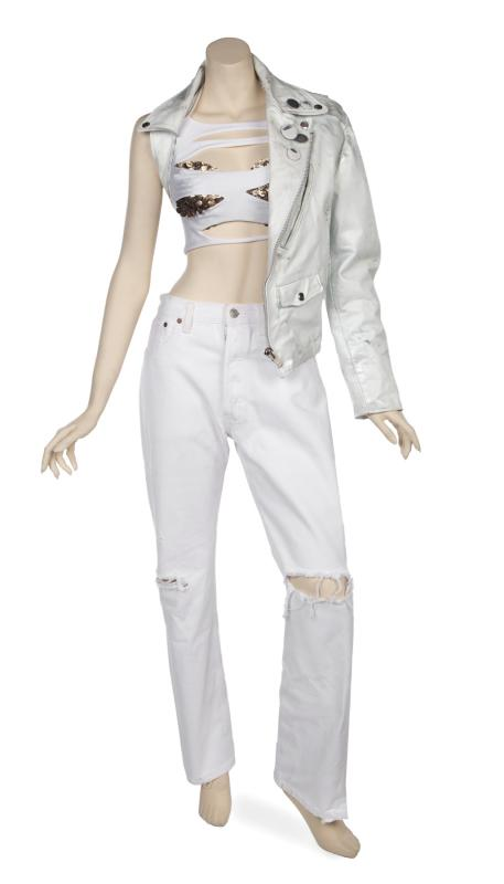 Ensemble worn by Janet Jackson to the MTV Icon event in her honor. Photo by Julien's Auctions.